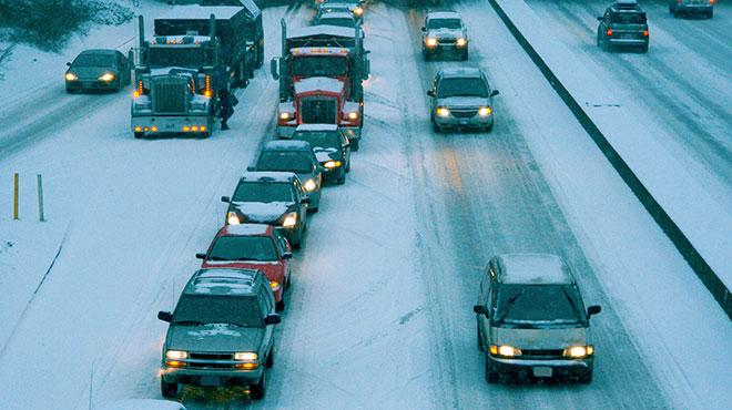 Conducción en malas condiciones de tiempo